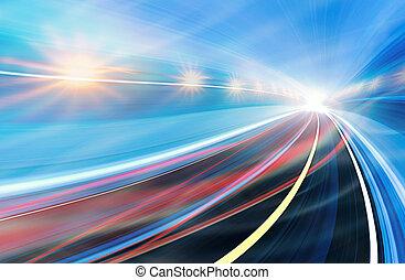 Geschwindigkeit abbrechen