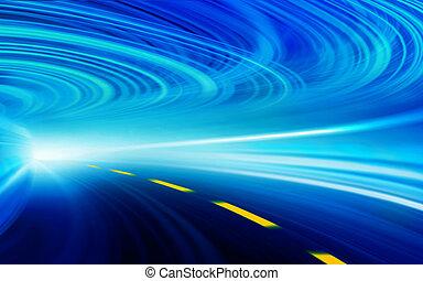 Geschwindigkeitsbewegung abbrechen