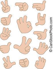 Gestures-Sammlung