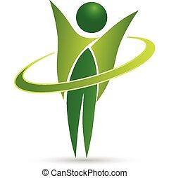 Gesundes Life Web Logo Design.