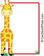Giraffe-Kopieraum
