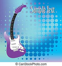 Gitarre, Musik Hintergrund