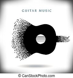 Gitarrenmusik.