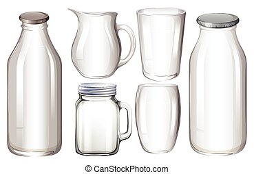 glas, behälter