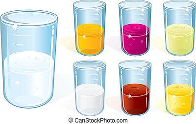 Glas mit Drink