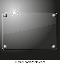 Glasplattenhintergrund