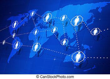 Globale Menschenverbindung
