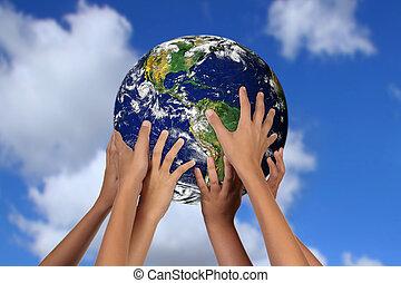 Globales Konzept für die Zukunft der Mutter Erde