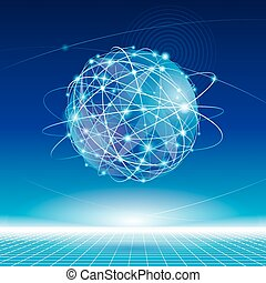 Globales Netzwerk.