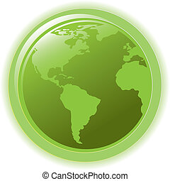 Globe-Konzept für Icon Web Internet