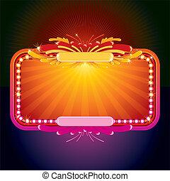 Glowing-Zeichen