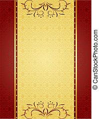 Gold Hintergrund für das Design von Karten und Einladungen