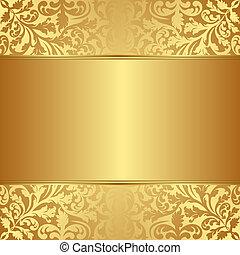 Gold Hintergrund.
