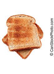 Goldbrauner Toast.