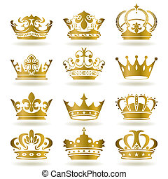 Goldkronen-Ikonen bereit