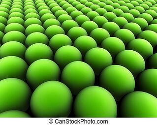 grün, flecke