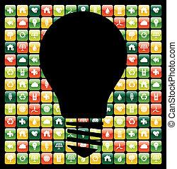 Grüne Handy-App-Ideen