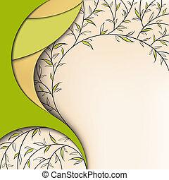 Grüne Natur, Flora.