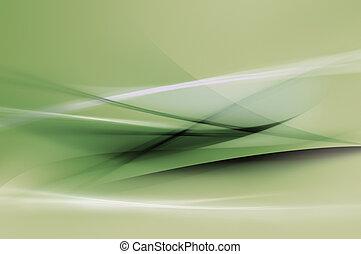 Grüne Wellen zurücknehmen