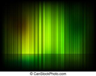 Grüner abstrakter glänzender Hintergrund. EPS 8