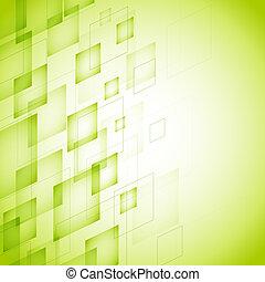 Grüner Hintergrund.