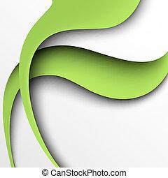 Grüner Papier Hintergrund deaktivieren
