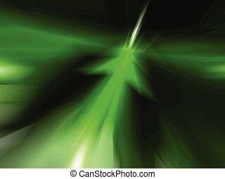 Grüner Pfeil abstrakter Hintergrund.