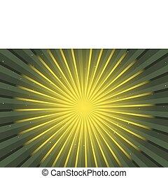 Grüner Vektor-Hintergrund