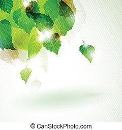 Grünes Foliage mit leichten Wirkungen deaktivieren