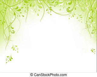 Grünes Gebilde