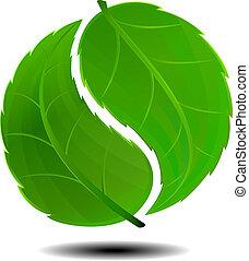 Grünes Symbol
