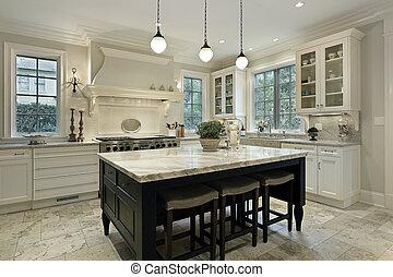 granit, kueche , countertops