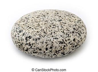 Granit - runder Stein.