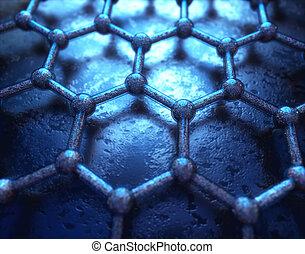 Graphen hexagonale Atomtechnologie