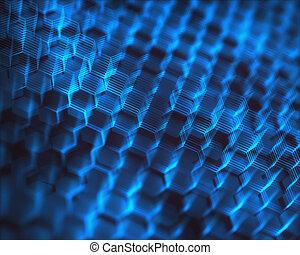 Graphen Strukturkonzept atomische Verbindung
