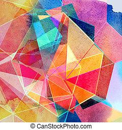 Graphischer, abstrakter Hintergrund.
