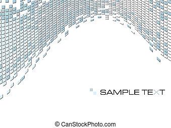Graublauer abstrakter Hintergrund