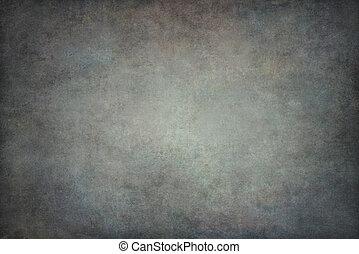Graue Baumwolle handgemalter Hintergrund.