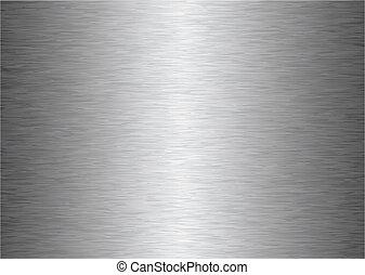 Grauer Metall Hintergrund