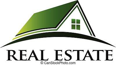Green House Immobilienlogo.