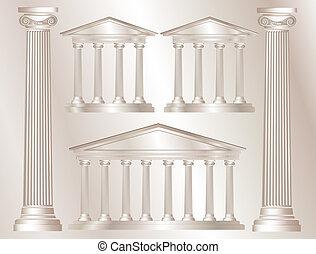 Griechische Säulen