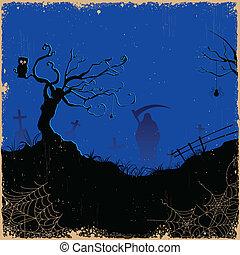 Grim in Halloween-Nacht