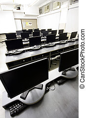 groß, lcd, computerzimmer, ausstellungen