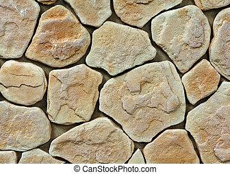 Große Beschaffenheit der Steinmauer
