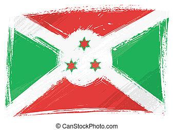 Grunge-Bullenflagge