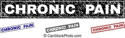 grunge, chronisch, wasserzeichen, textured, schmerz, rechteck