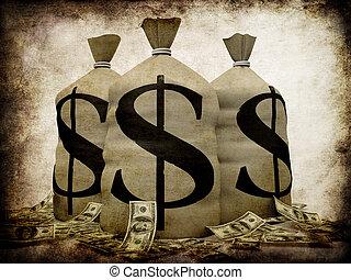 Grunge-Geld