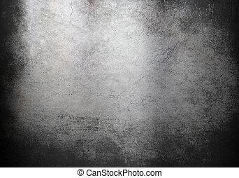 Grunge Metall Hintergrund oder Textur.