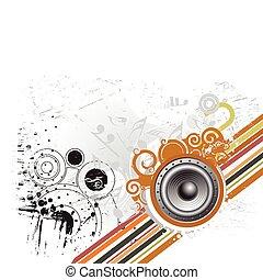 Grunge-Musik-Thema