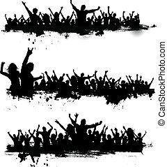 Grunge Partyleute